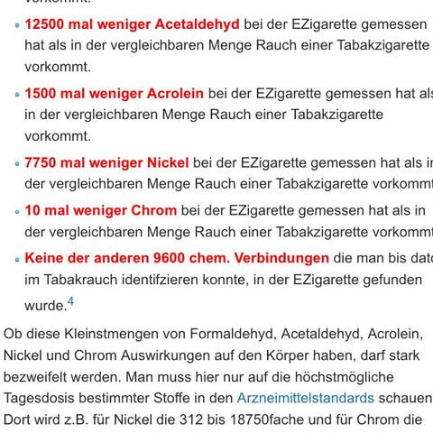 Kleine übersicht  - (rauchen, Zigaretten, e-zigarette)