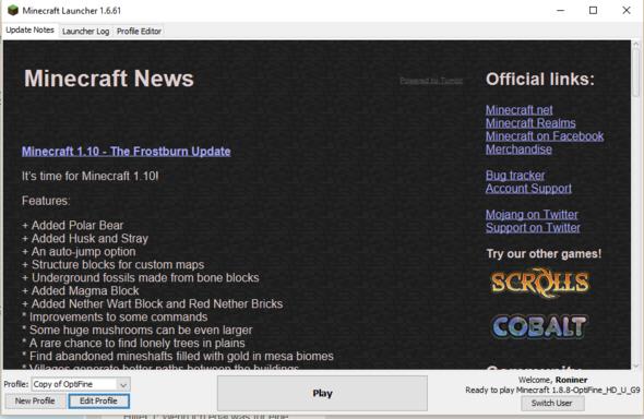 """Edit Profile"" - (PC, Minecraft, Gaming)"