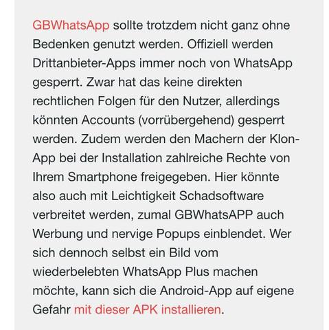..... - (Android, Whatsapp plus)