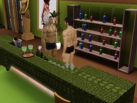 Vampire Vater/Sohn - (Games, Sims 3, Vampire)