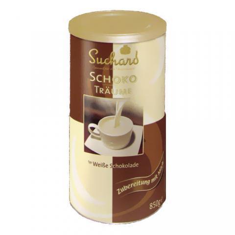 Weiße Trinkschokolade - Suchard Schokoträume 850g - (McDonald's, weisse-schokolade)
