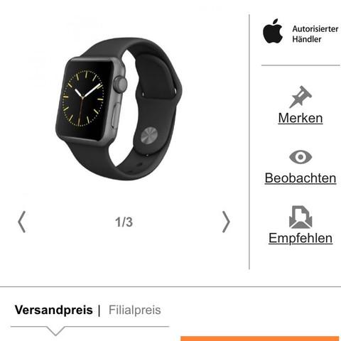 Bei Cyberport gibt es die günstig  - (Apple, Alternative, watch)