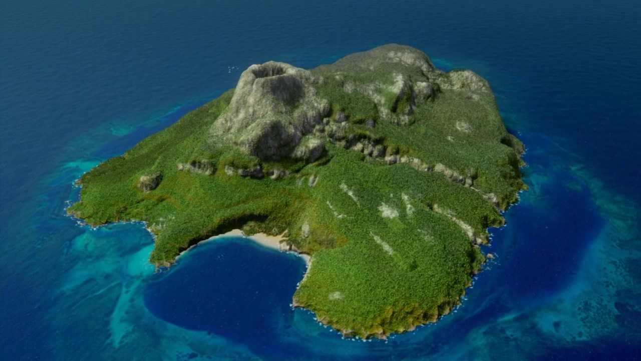 Google Earth Maps Cook Islands