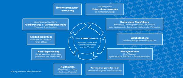 Typische Prozessbestandteile einer Unternehmensnachfolge - (Unternehmen, Unternehmensverkauf)