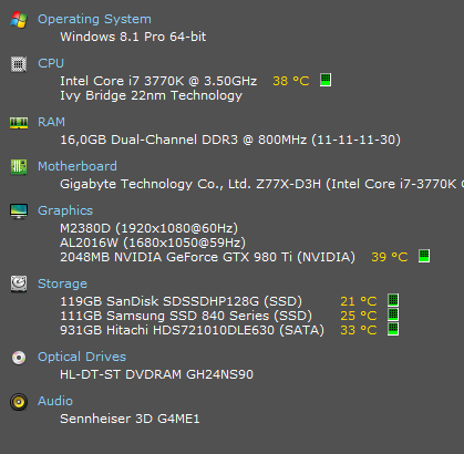 - (Grafikkarte, RAM, GPU)