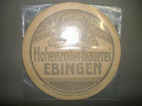Ebingen aus der zeit um 1900 - (verkaufen, Bierdeckel)