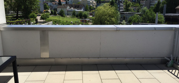 Sichtschutz Terrasse Ohne Bohren. Balkon Sichtschutz Anthrazit With Sichtschutz Terrasse Ohne ...
