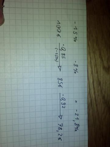Meine Rechnung - (Mathe, Prozent, Rabatt)