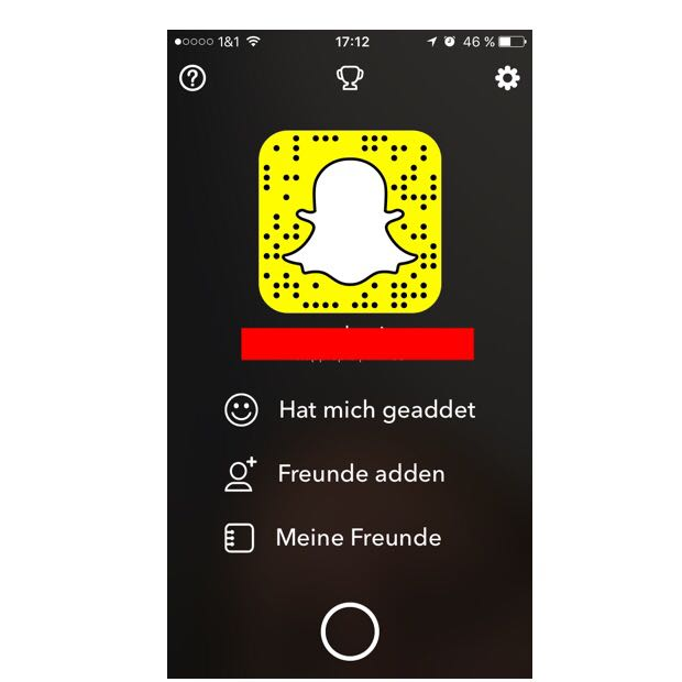 Wo kann ich sehen, wer mir auf Snapchat folgt? (Handy