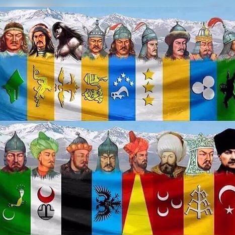 Hier, die Wurzeln der Türken. Hoffe ich konnte dir da weiter helfen. - (Türkei, Europa, Asien)