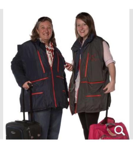 Gepäckwesten - (Flugzeug, Handgepäck)