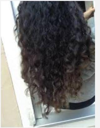 - (Haare, Friseur, Locken)