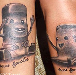Kinderschokolade  - (Freundschaft, Tattoo)