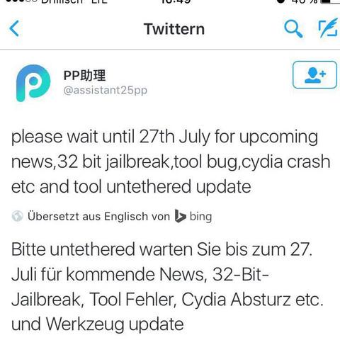 Update - (ios, Jailbreak, Cydia)