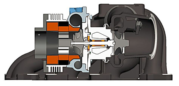 Eingebauter Elektromotor im Turbolader - (Technik, Auto, Chemie)