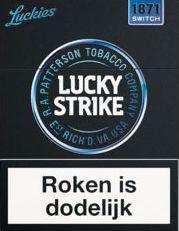 Lucky Strike schwarz NL - (Tabak, Holland)