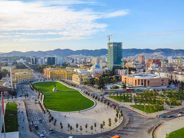 Albanien, Tirana (4) - (Urlaub, Albanien)