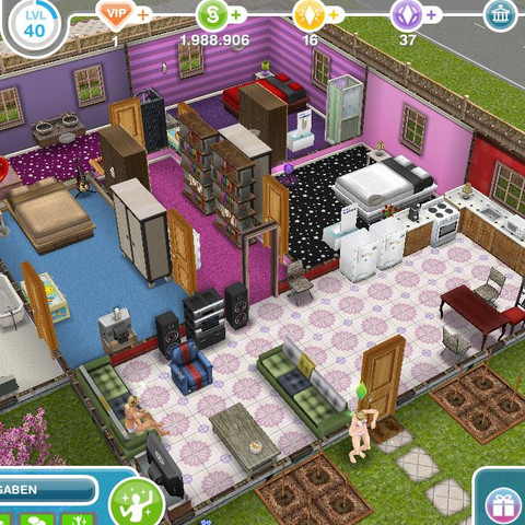 habt ihr ideen f r ein wg haus in sims freeplay haeuser. Black Bedroom Furniture Sets. Home Design Ideas