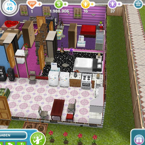 ....... - (WG, Haeuser, Sims Freeplay)