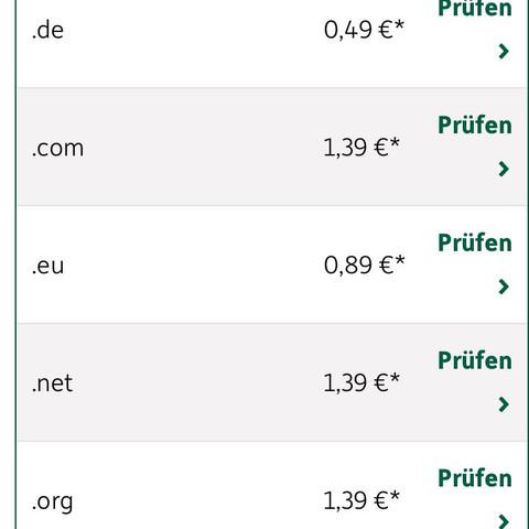Domainfactory - (Domain, moatlich)