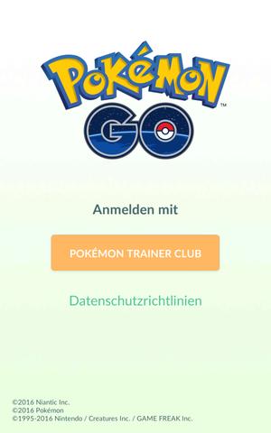 - (Pokemon Go, google Konto)