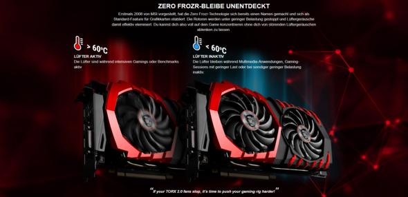 MSI Zero Frozr - (Computer, PC, Grafikkarte)