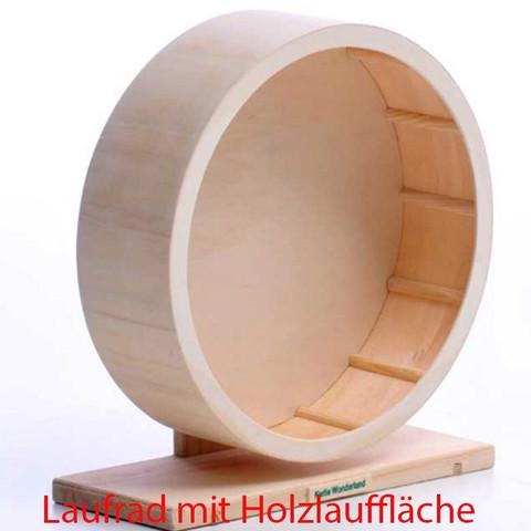 Hier ein optimales Holzlaufrad von Karlie Wonderland - (Hamster, Haltung)