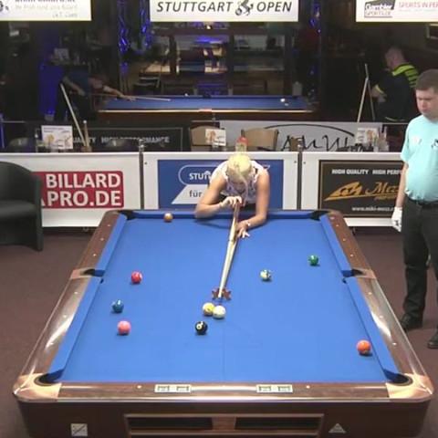 Stuttgart Open 2016 livestream - (Bundesliga, billard, 8 Ball)