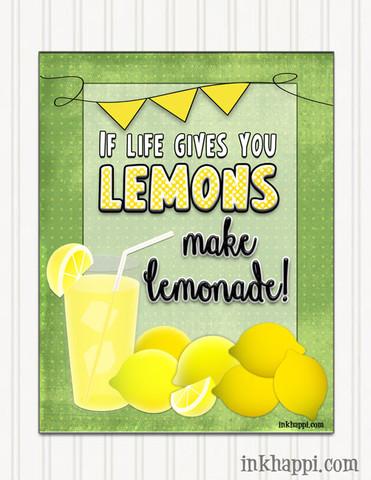 Lemons - (Freunde, Englisch, Leben)