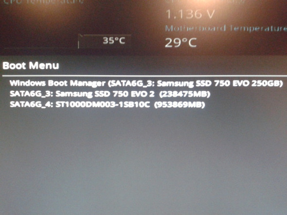 Boot Menu - (Computer, PC, Hardware)