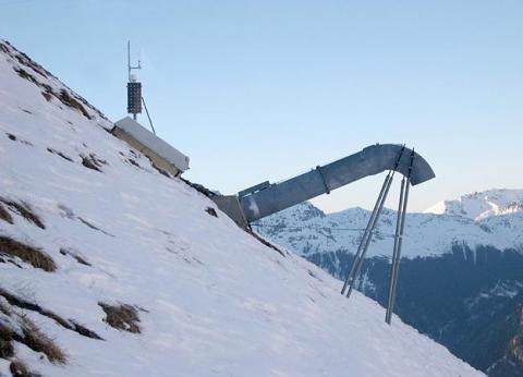 GazEx - Lawinensprengung - (Ski, Berge, Rohr)