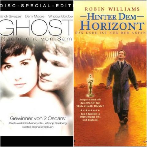 Ghost-Narricht von sam und Hinter dem Horizont - (Film, Buch, traurig)
