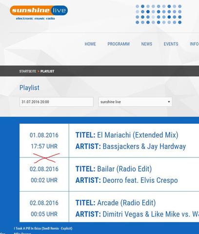 Lücke - (Lied, Song, Radio)