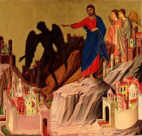 Versuchung Christi - (Menschen, Religion, Philosophie)