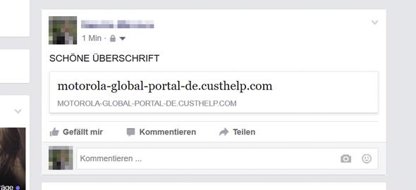 pdf auf Facebook - (Internet, Facebook, Internetseite)