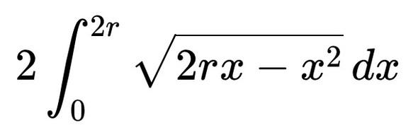 Die Kreisflächenberechnung - (Mathe, Mathematik, Formel)
