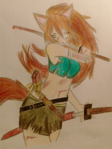 Bild - (Mädchen, Manga, zeichnen)