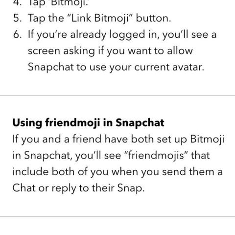 Wie kann man bei bitmoji die Freundschafts-avatare machen