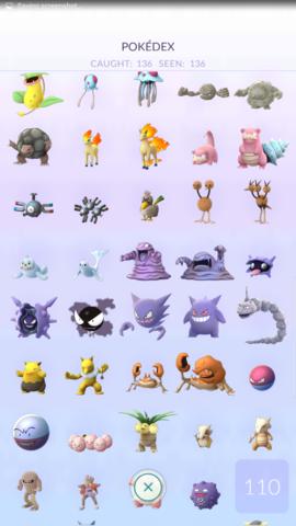 136 von (149) - (Pokemon, Level)