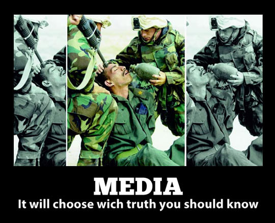 So sieht es aus, wenn Bilder erfolgreich Opfer werden der Tatsachenverzerrung. - (Internet, Foto, Fotografie)