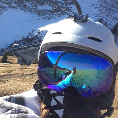 position des Aufklebers :D - (Freizeit, Ski)