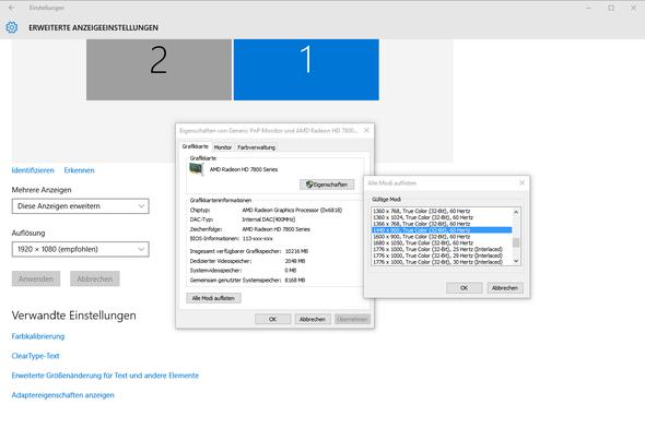 Screenshot-2 - (Windows 10, Auflösung, Videomodus)
