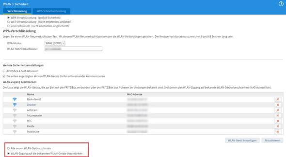 Screenshot - (Netzwerk, Router, Fritz Box)