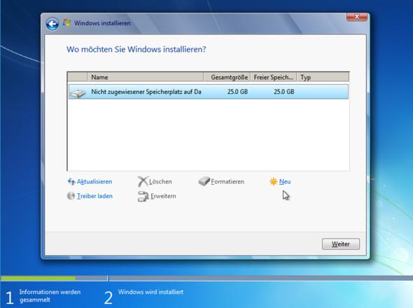 Text - (Computer, Windows, Installation)