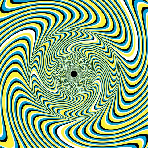 optische Illusion, Bewegung - (Wohnung, Geister)