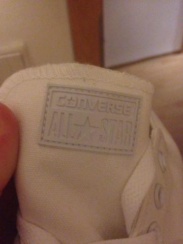 Rückseite - (Sport, Schuhe, Converse)
