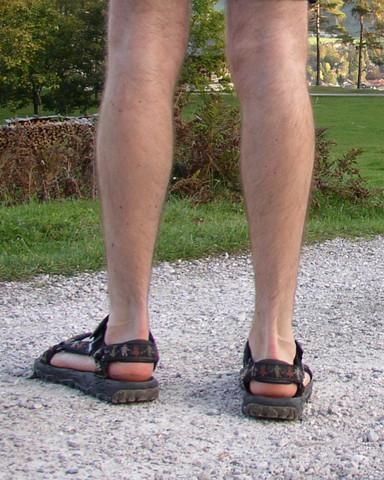Sandalen barfuß - (Freizeit, Beauty, Mode)