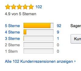 Amazon, Bewertungen - (Amazon, Regenschirm)