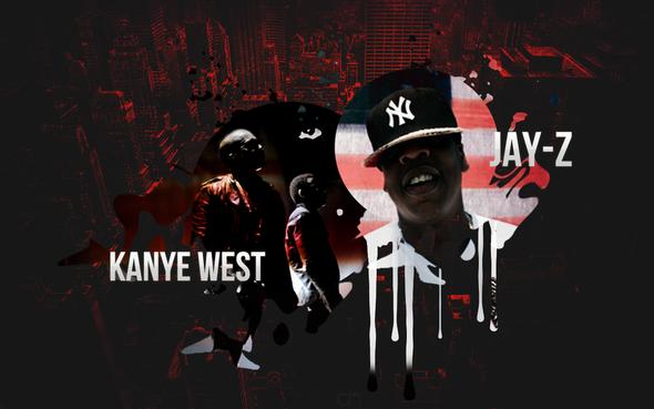 - (iPhone, kanye west, jay-z)