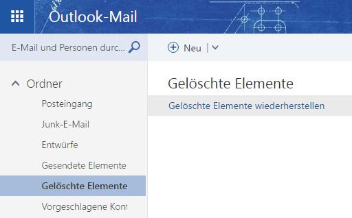 - (E-Mail, Outlook)